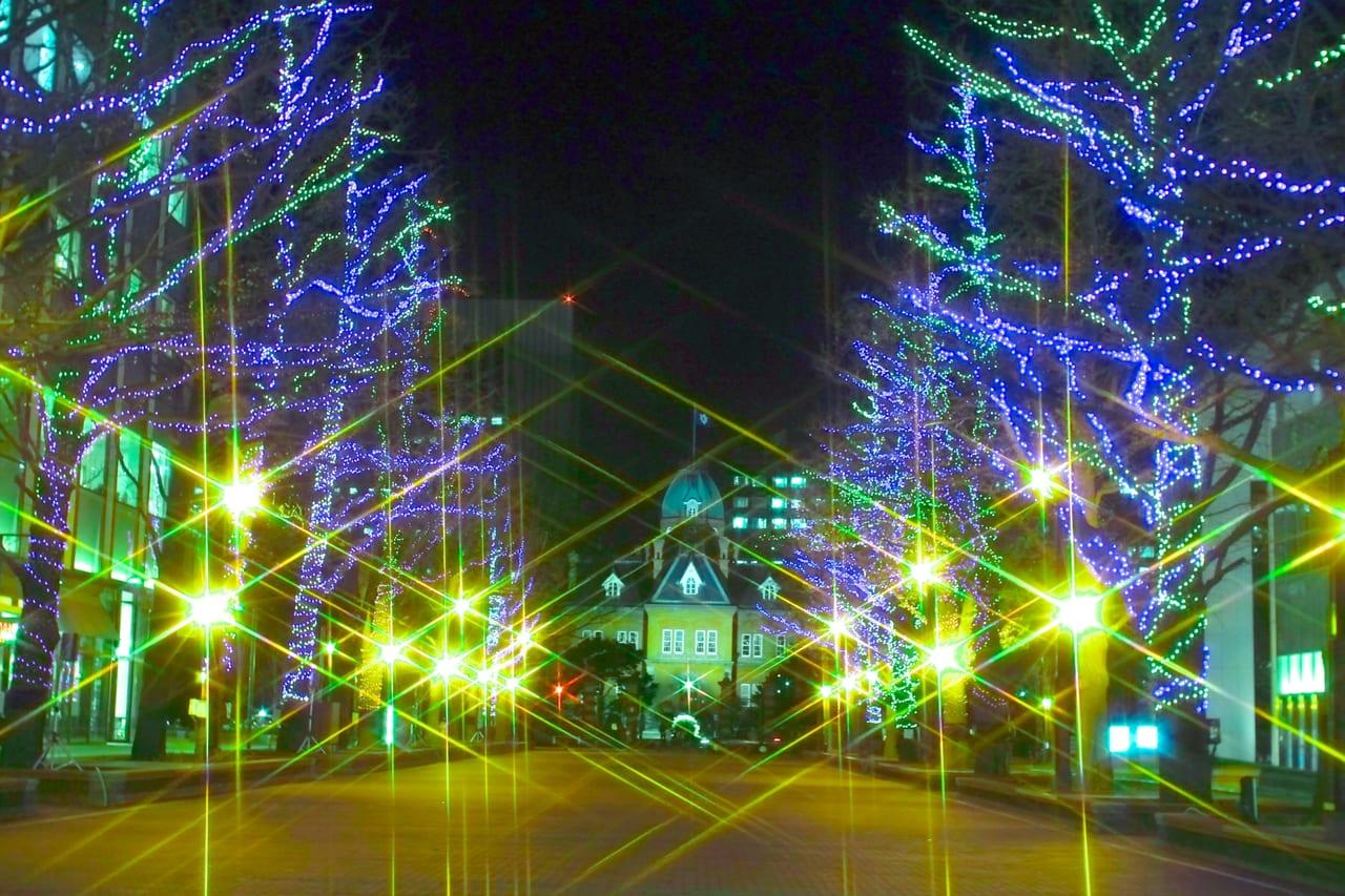 札幌市ホワイトイルミネーション