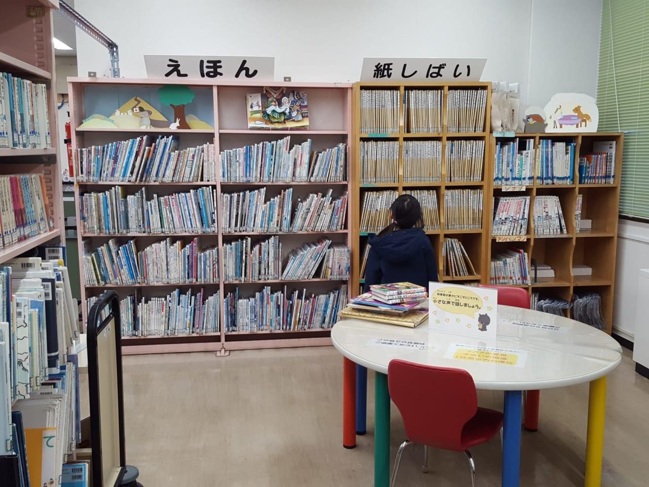 北区民センターの図書室